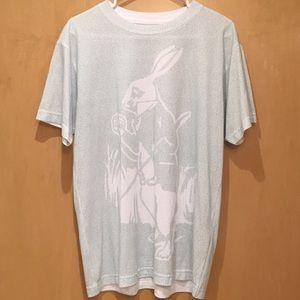 """Litographs book t-shirt """"Alice's Adventures In..."""""""